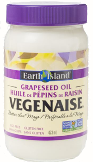 Earth Island: Vegenaise Made With Grapeseed Oil (473ml)