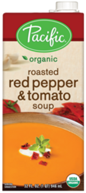 Pacific: Organic Roasted Red Pepper & Tomato Soup (1L)