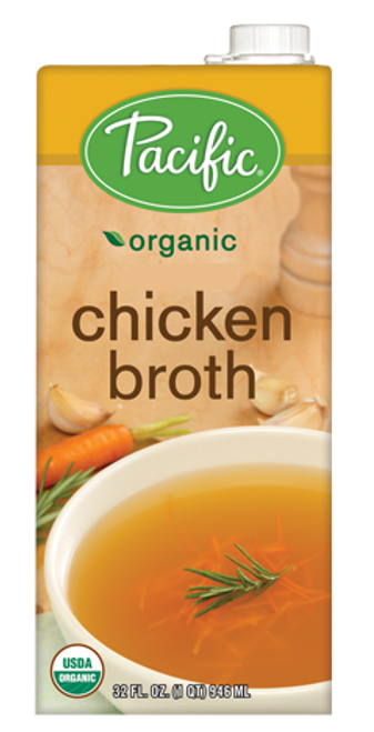 Pacific: Organic Chicken Broth (946ml)
