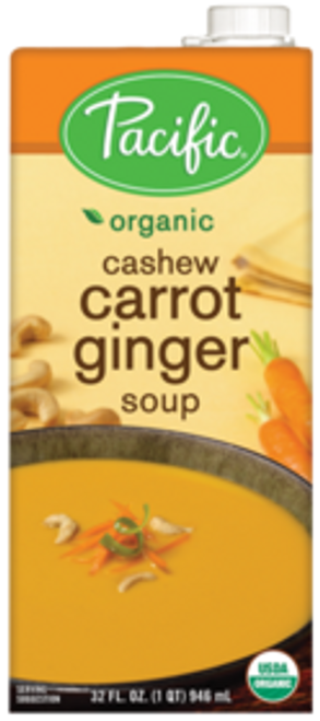 Pacific: Organic Cashew Carrot Ginger (1l)