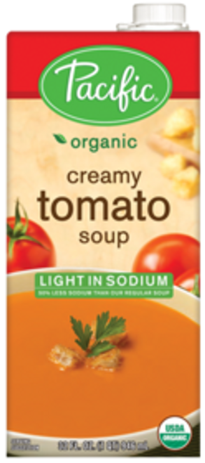 Pacific: Organic Creamy Tomato Soup Lightly Salted (1l)