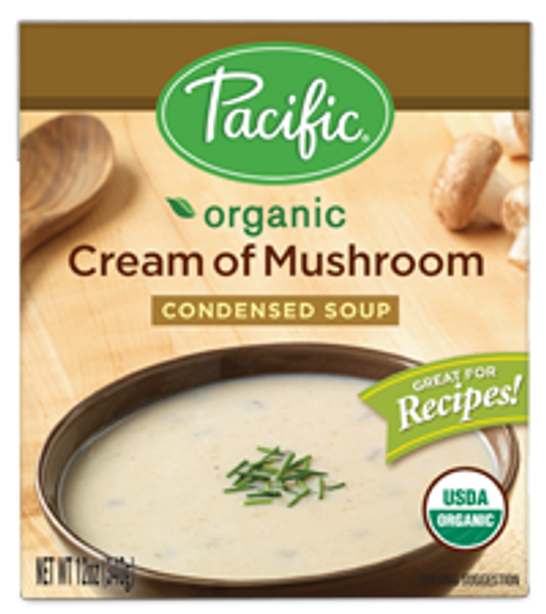 Pacific: Foods Organic Cream Of Mushroom Condensed (320ml)