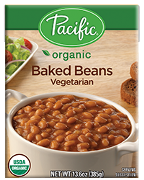 Pacific: Organic Baked Beans Vegetarian (365ml)