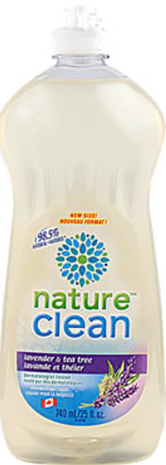 Nature Clean: Dishwashing Liquid Lavender (740ml)