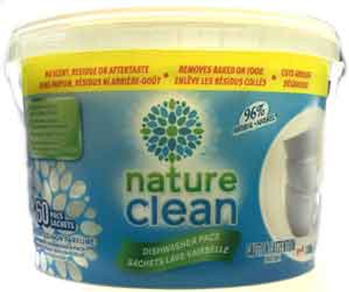 Nature Clean Automatic Diswasher Pacs (60 pacs)