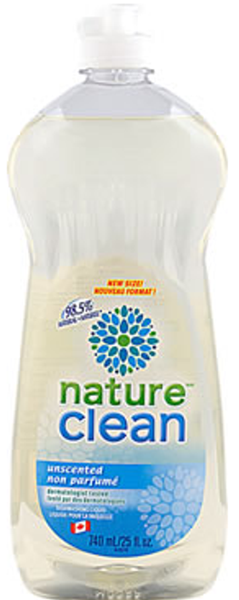 Nature Clean: Dishwashing Liquid Unscented (740ml)