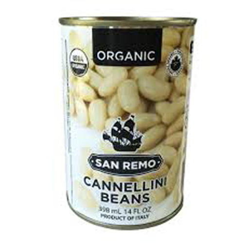 San Remo: Organic Cannellini Beans (398ml)