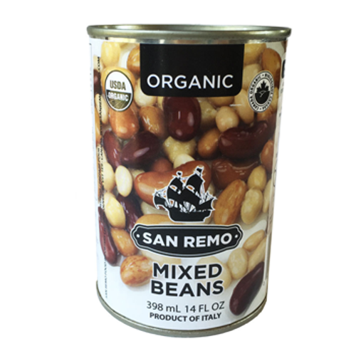 San Remo: Organic Mixed Beans (398ml)