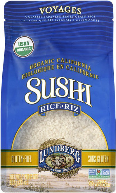 Lundberg Family Farms: Organic Sushi Rice (907g)