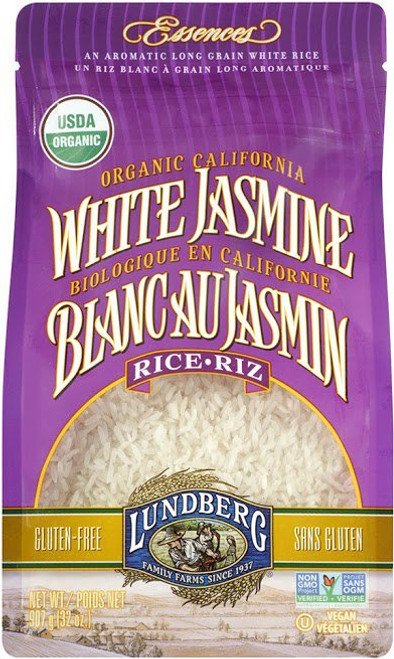 Lundberg Family Farms: Organic White Jasmine Rice (907g)