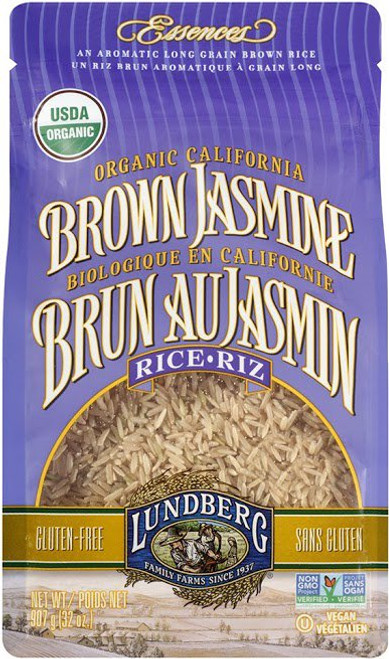 Lundberg Family Farms: Organic Brown Jasmine Rice (907g)