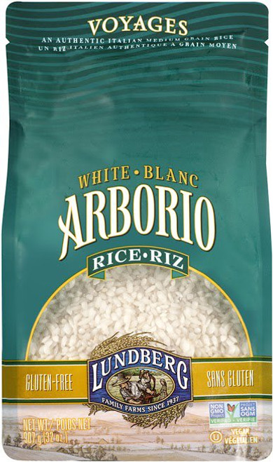 Lundberg Family Farms: White Arborio Rice (907g)