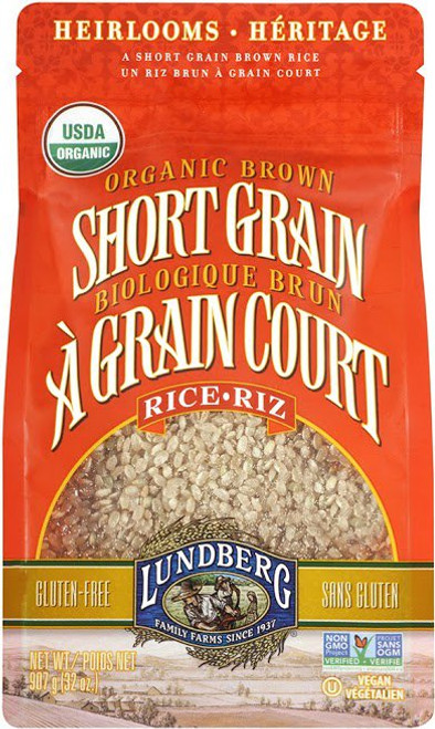 Lundberg Family Farms: Short Grain Brown Rice (908g)