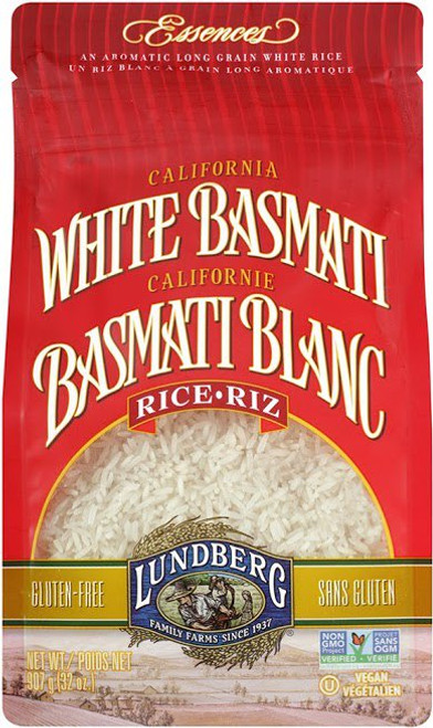 Lundberg Family Farms: White Basmati Rice (907g)