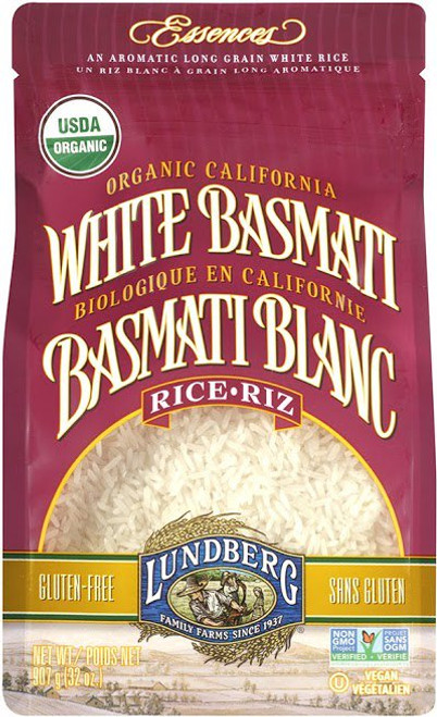 Lundberg Family Farms: Organic Basmati White Rice (907g)
