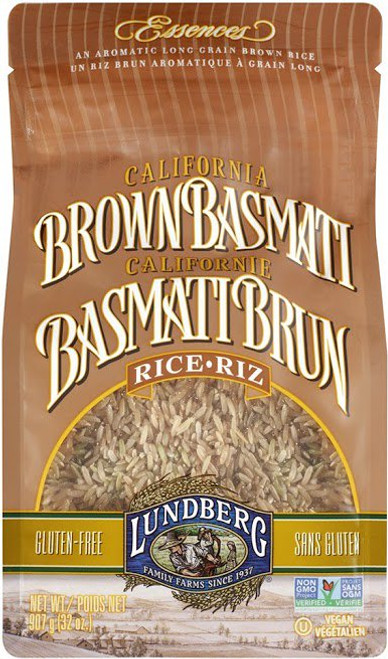 Lundberg Family Farms: Brown Basmati Rice (907g)