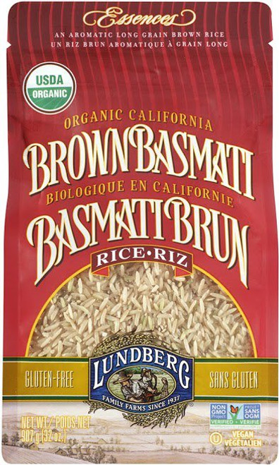 Lundberg Family Farms: Organic Brown Basmati  Rice (907g)