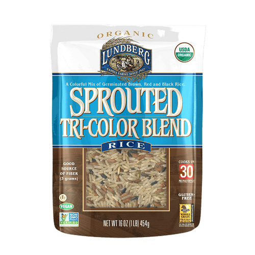 Lundberg: Sprouted Tri-Colour Blend Rice (454g)