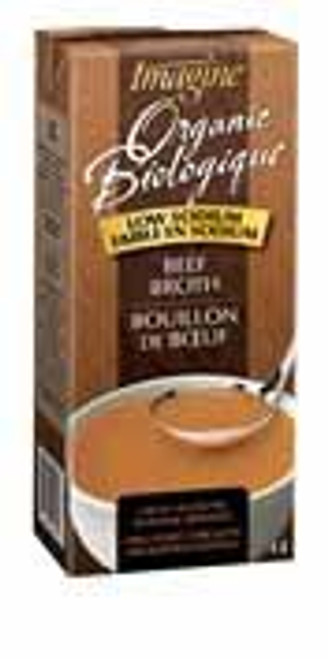 Buy Low-Sodium Beef Broth from Imagine (1l)