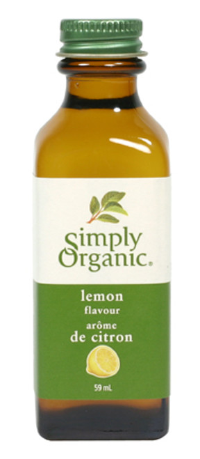 Simply Organic: Lemon Flavour (59ml)
