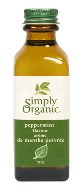 Simply Organic: Peppermint Flavour (59ml)