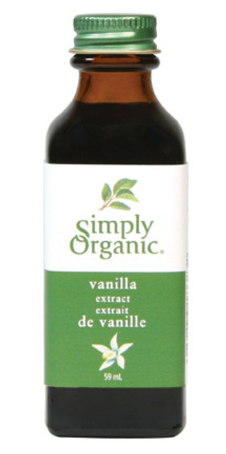 Simply Organic: Vanilla Extract (59ml)