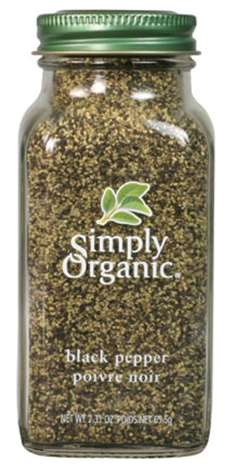Simply Organic: Black Pepper (65.5g)