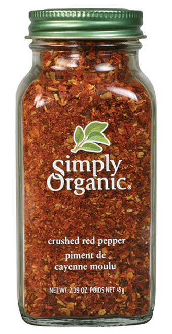 Simply Organic: Crushed Red Pepper (45g)