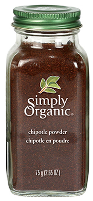 Simply Organic: Chipotle Powder (75g)