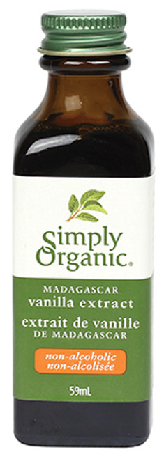 Simply Organic: Madagascar Vanilla Extract (non-alcoholic) (59ml)