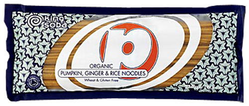 King Soba: Organic Pumpkin, Ginger & Rice Noodles (250g)