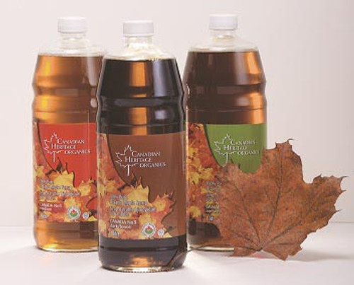 Canadian Heritage: Organic Maple Syrup #3 Dark (1l)