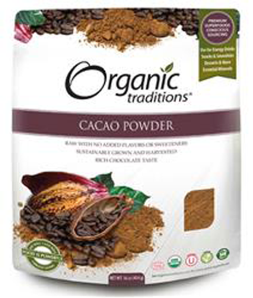 Organic Traditions: Cacao Powder (454G)