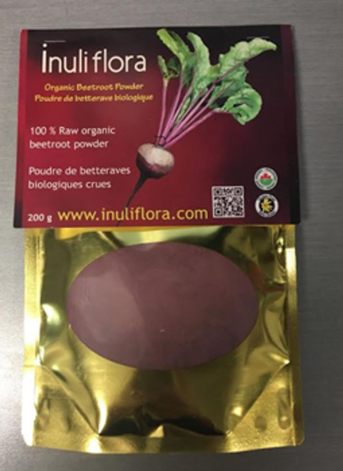 Inuliflora: Organic Raw Beetroot Powder (200g)