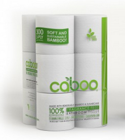 Caboo: Bathroom Tissue (12 Pack)