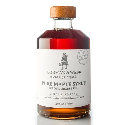Cosman & Webb: Organic Pure Maple Syrup - Single Forest (250ml)