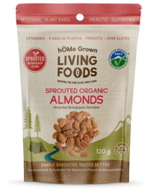 hOMe Grown Living Foods: Sprouted Organic Almonds