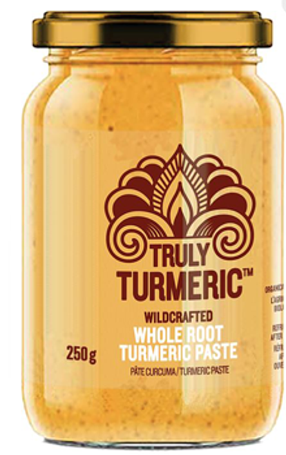 Truly Turmeric: Wildcrafted Whole Root Turmeric Paste (250g)