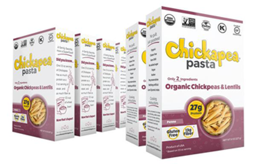Chickapea: Organic Chickpea & Lentil Penne Pasta (227g)
