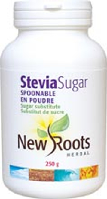 New Roots Herbal: Spoonable Stevia Sugar (250g)
