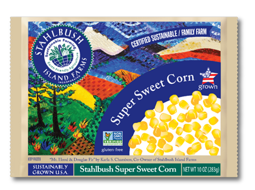 Stahlbush Island Farms: Frozen Supersweet Corn (350g)