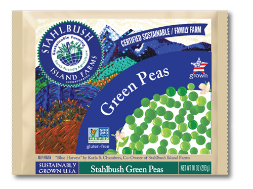 Stahlbush Island Farms: Frozen Green Peas (350g)