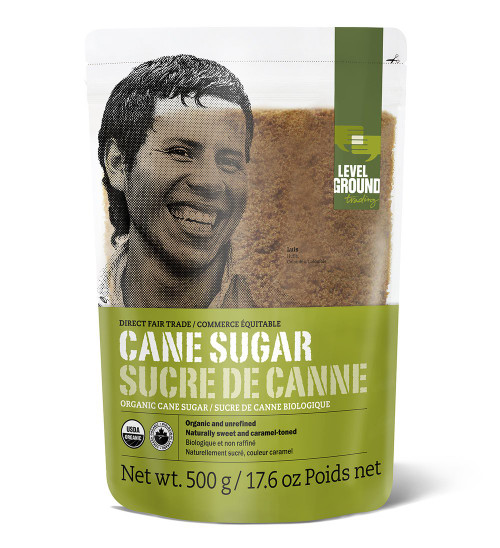 Level Ground Trading Ltd.: Fair Trade Cane Sugar (500g)