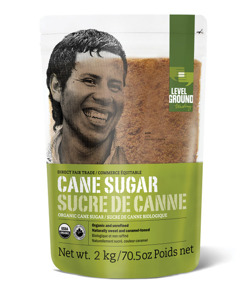 Level Ground Trading Ltd.: Fair Trade Cane Sugar (2kg)