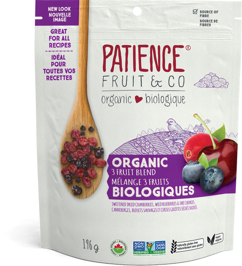 Patience Fruit & Co. Organic 3 Fruit Blend