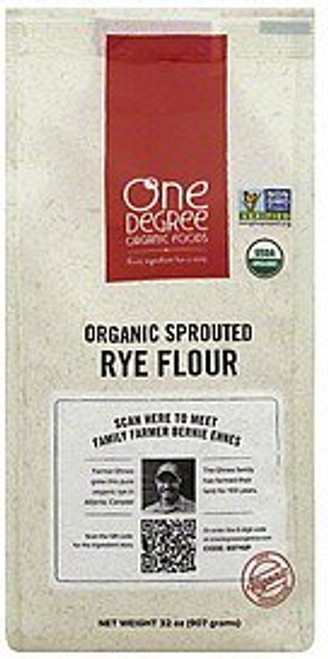 One Degree Organic: Organic Sprouted Rye Flour (907g)