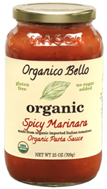 Organico Bello: Spicy Marinara Organic Pasta Sauce (685ml)