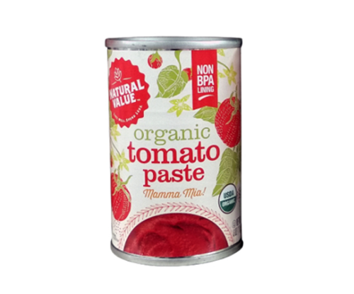 Natural Value: Organic Tomato Paste (170g)
