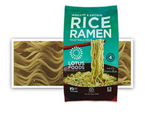Lotus Foods: Wakame & Brown Rice Ramen Vegetable Soup