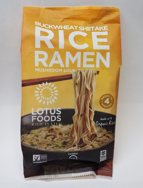 Lotus Foods: Buckwheat Shiitake Rice Ramen Mushroom Soup